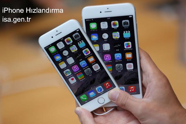 iphone hızlandırma