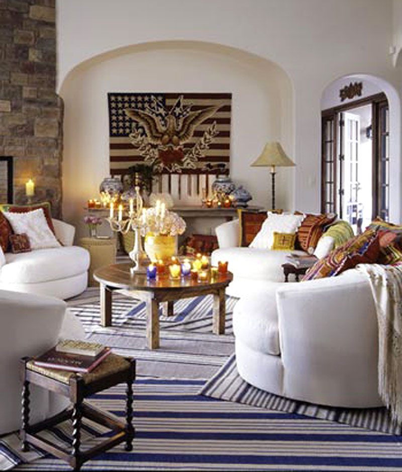 New Home Interior Design: Southwestern Country Style