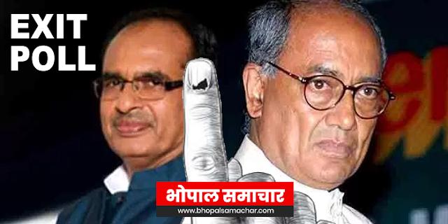 MP EXIT POLL के बाद दिग्विजय सिंह और शिवराज सिंह ने क्या कहा, यहां पढ़िए