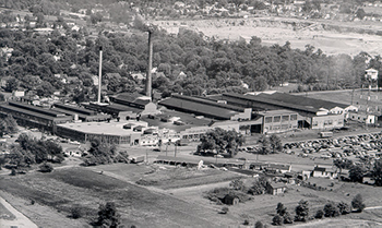 Climbing My Family Tree: Aerial View of Cooper Tire - 1950s