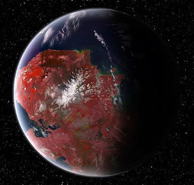 Kepler 442b, la supertierra que podría contener vida alienígena
