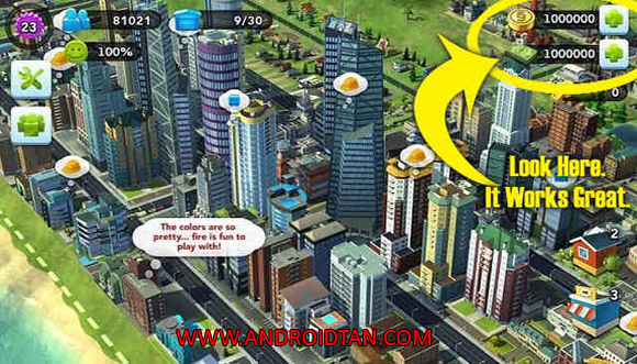 Cara Install SimCity Buildlt Mod Apk Latest Version