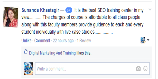 digital marketing training & services review