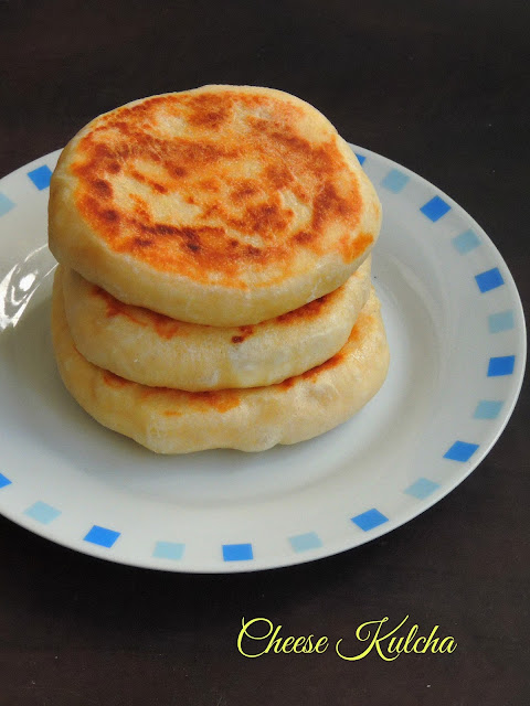 Cheese kulcha, Laughing cow kulcha