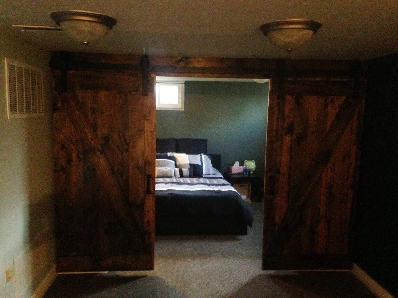 Steve Parry Handyman: Barn Door Bedroom Doors