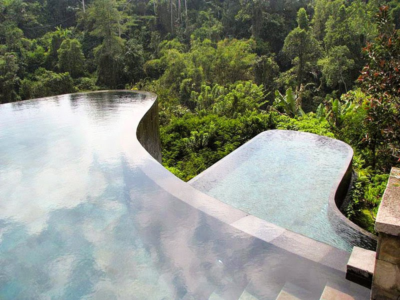 8. Hotel Ubud Hanging Gardens,Indonesia - 10 Amazing Hotels You Need To Visit Before You Die