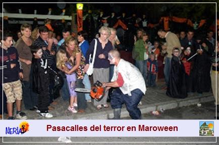 Las actividades de Marowenn comienzan con el terrorificamente divertido Pasacalles del Terror