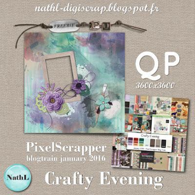 quick page freebie - Blogtrain PixelScrapper 2016 01