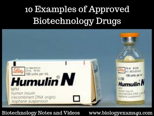 10 Examples of Approved Biotechnology Drugs