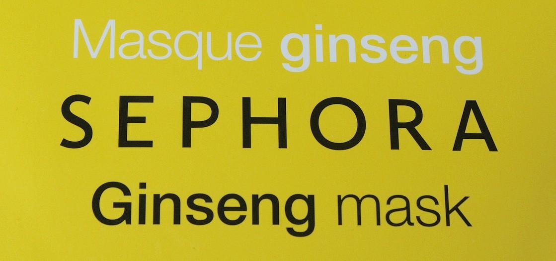 masque ginseng sephora
