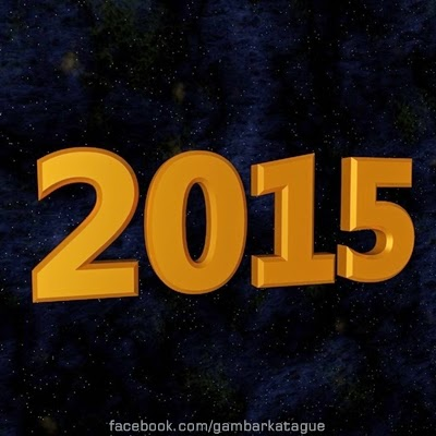 Kartu Ucapan Selamat tahun Baru - Happy New Year 2015