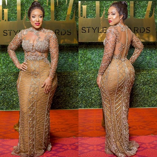 """""""Glitz Africa held its annual award show last night, """"Glitz Style Awards"""" in Ghana. Celebrities graced the event in glamour,in their best attires,obviously dressed to impress"""""""