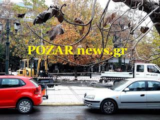 www.pozarnews.gr: Άρχισαν οι εργασίες στην Κεντρική πλατεία Αριδαίας