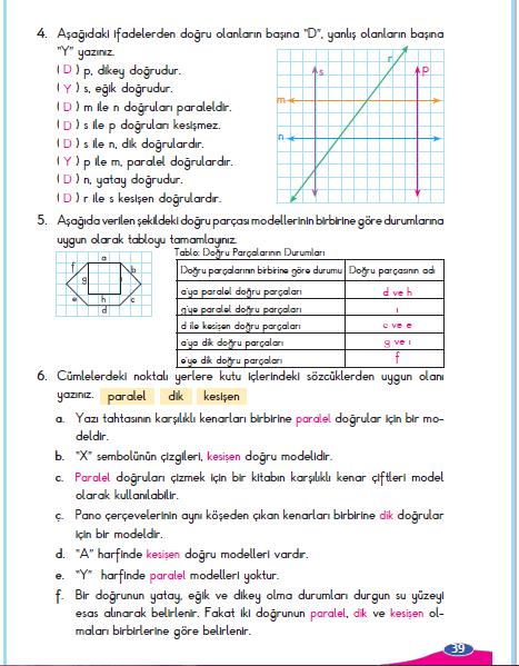 3 Sinif Berkay Yayinlari Matematik Calisma Kitabi 39 Sayfa