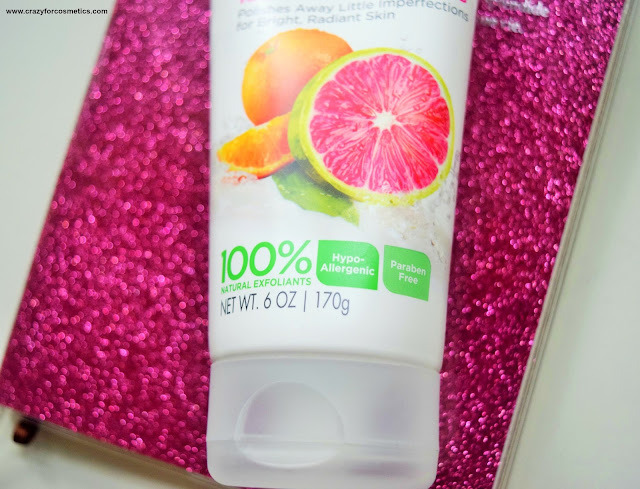 Pink Lemon & Mandarin Orange  Scrub Review
