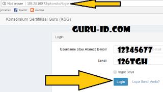 gambar login ksg.kemdikbud.go.id  Konsorsium Sertifikasi Guru Tahun 2017