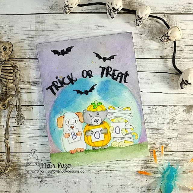 Newton's Nook Designs Halloween Trio Set - Naki Rager