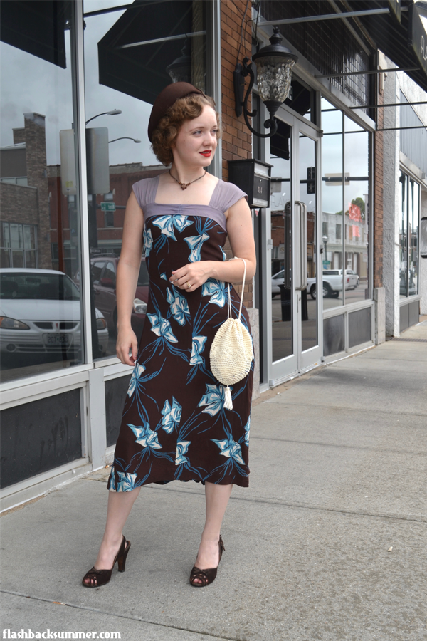 Flashback Summer: 1930s Fixer Upper - make do and mend dress