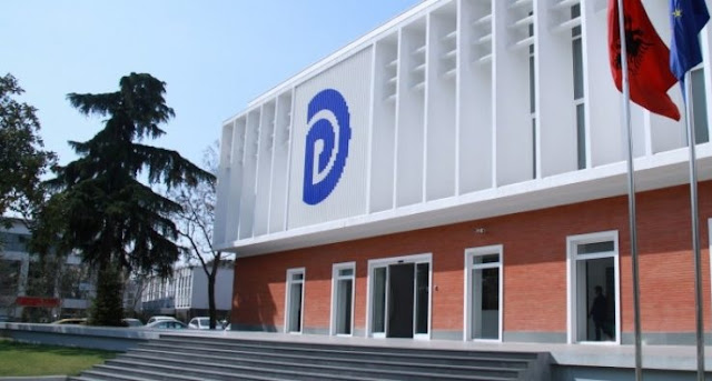 Albanian Democatic Party edifice