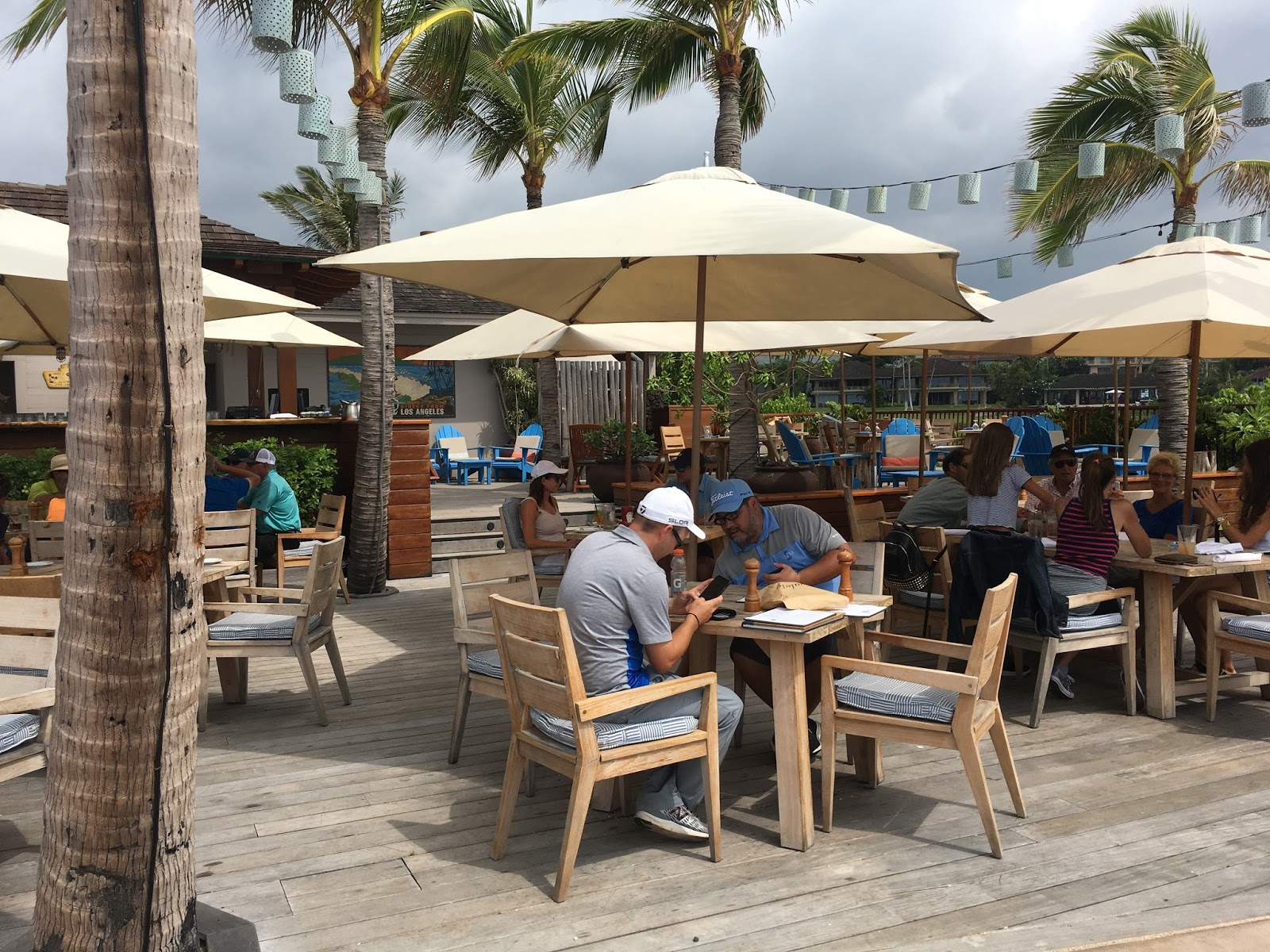 Patio Seating Is Comfortable And Right In Front Of The Ocean