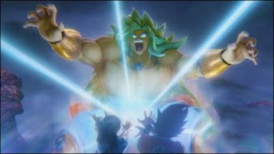 Broly Super Saiyan Dios