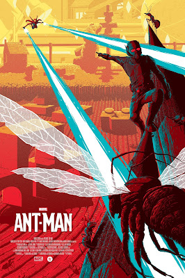 Florey Ant Man Movie Poster Print Grey Matter Art