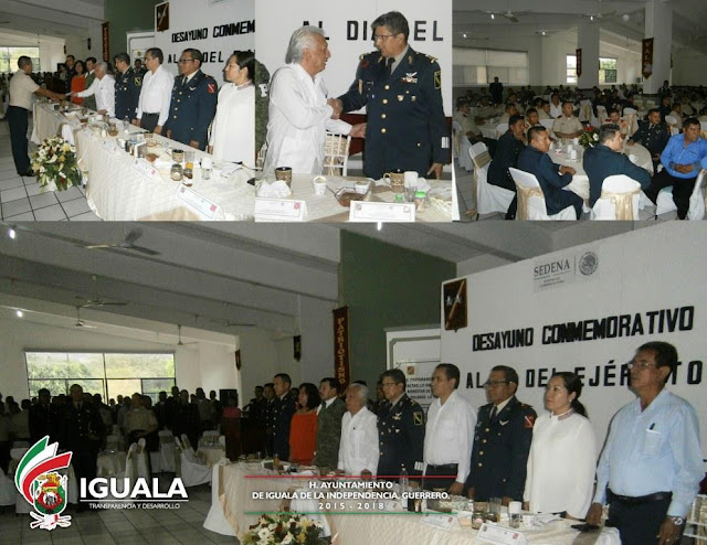 Conmemoran el Día del Ejército Mexicano