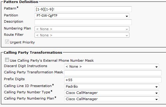 CCIE Voice Brasil: Translation Pattern ou Transformation