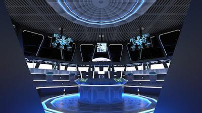 Futuristic Command Center