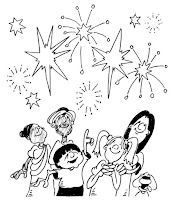 דפי צביעה יום העצמאות