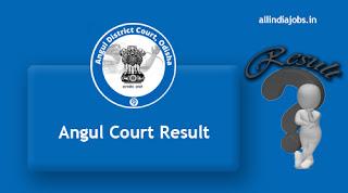 Angul Court Jr Clerk Copyist Result