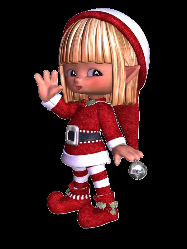 Colecci n de gifs personajes de navidad im genes de for Gnomos navidenos