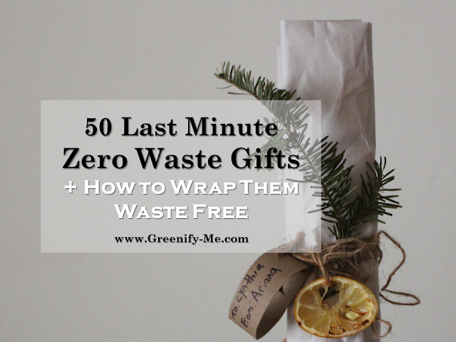 last minute zero waste gifts