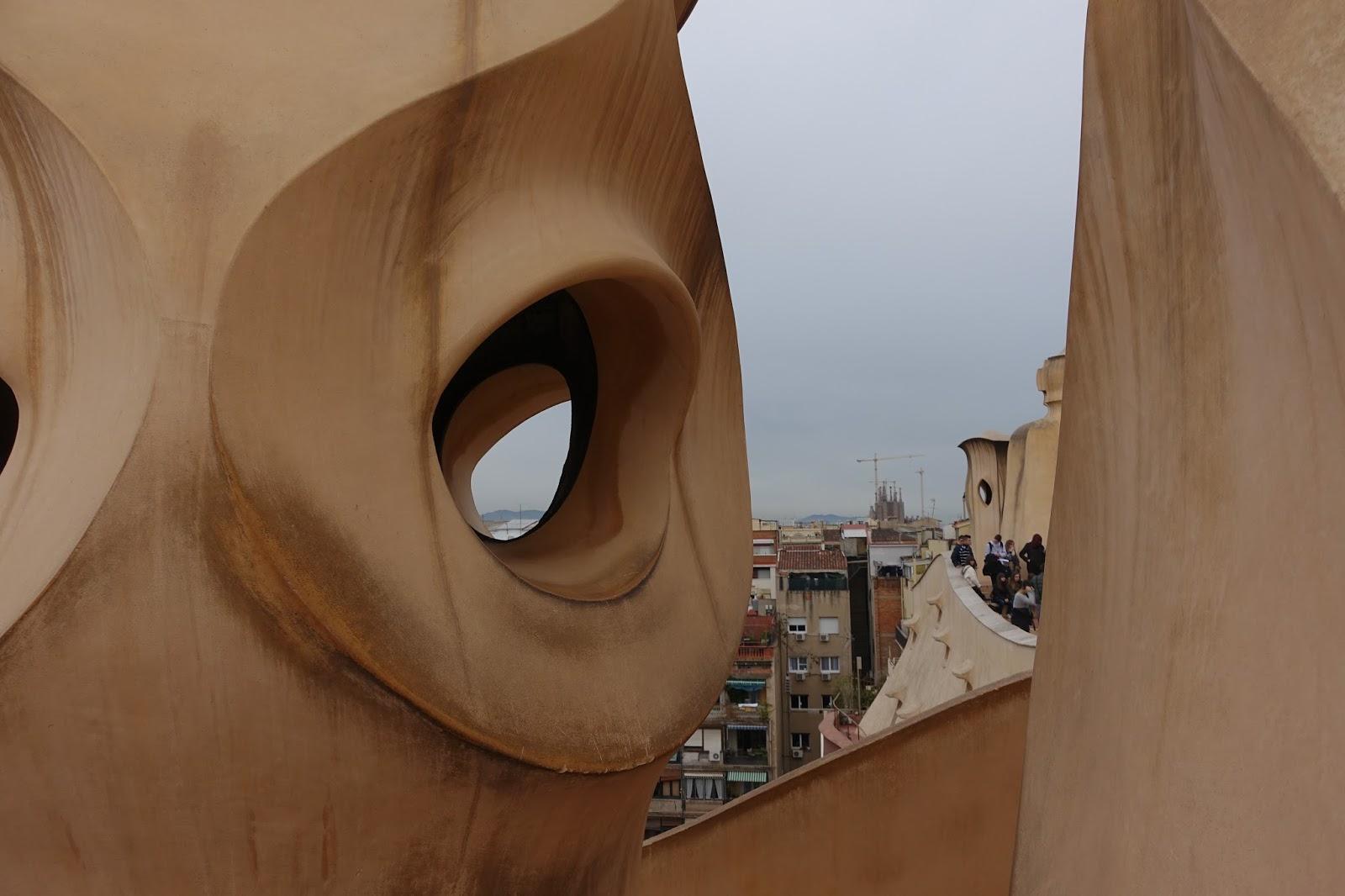 カサ・ミラ(Casa Milà) 屋上のオブジェ1