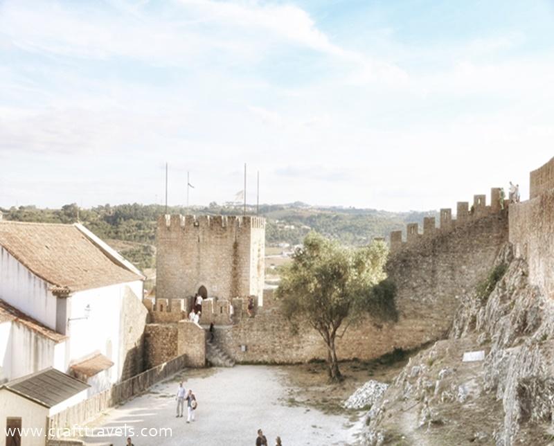 średniowieczne Obidos w Portugalii, 7 cudów Portugalii