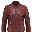 Fashion Leather Jacket for Girls