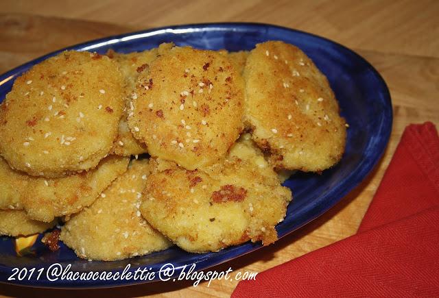 Crocchette di patate e lenticchie rosse