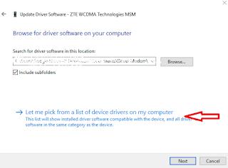 Download Driver GSM CDMA MF825A MF90 MF190 Terbaru 2017