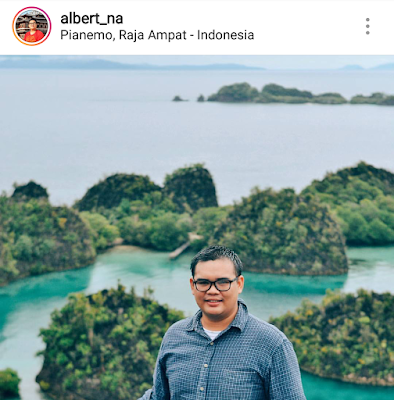Albert Ghana Travel Blogger Indonesia