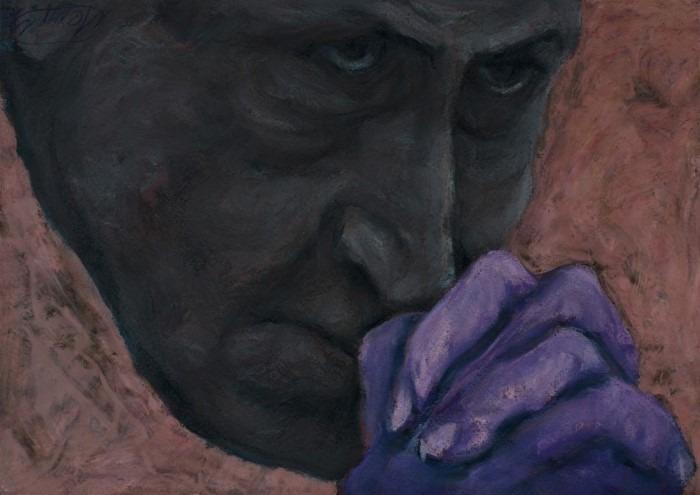 Израильский художник. Maksim Mezhuritsky