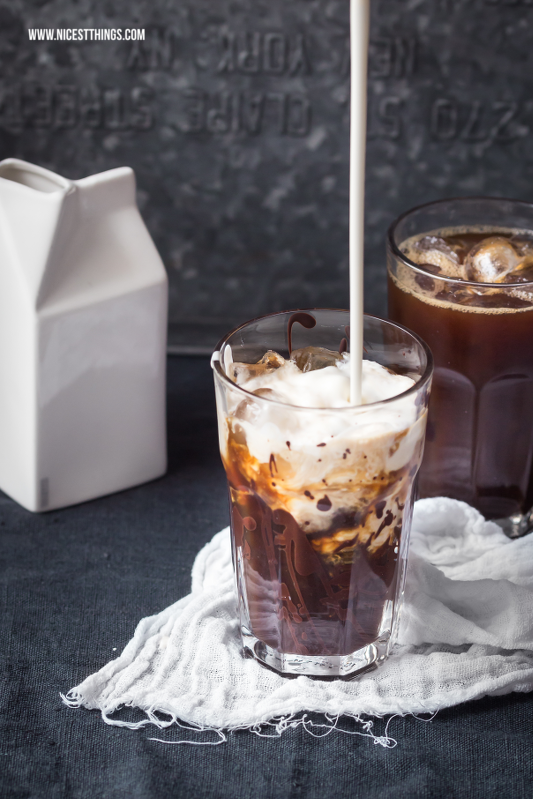Coconut Chocolate Iced Coffee Recipe