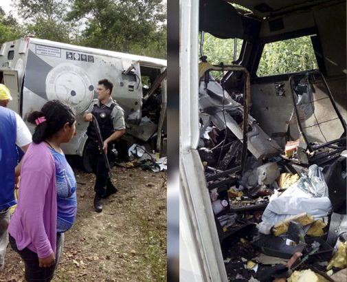 Quadrilha ataca carro-forte na zona rural de Água Doce do Maranhão
