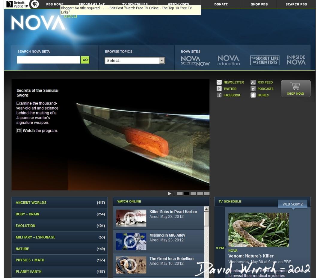 Free tv links online watch