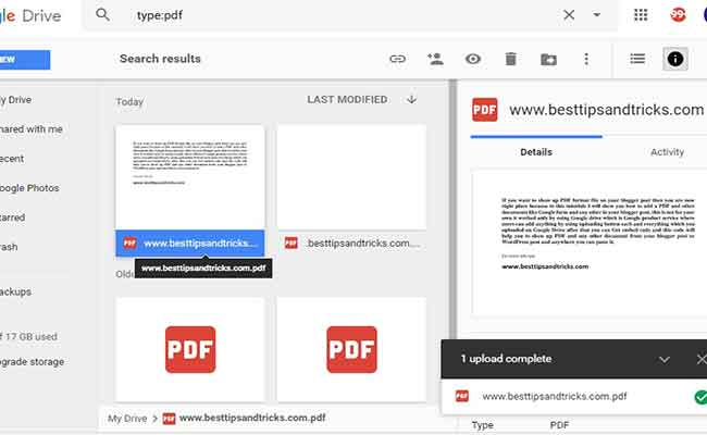 How to embed pdf file