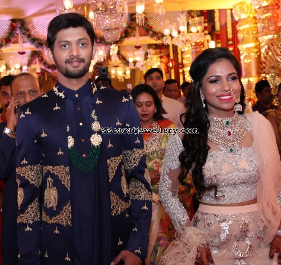 Hanisha Chalavadi Wedding Reception