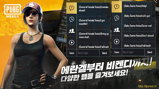 Quick Chat Pubg Mobile 0.12.0