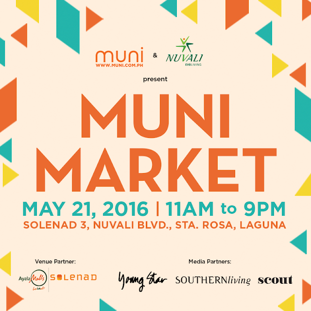 MUNI Market 2016 is coming to NUVALI