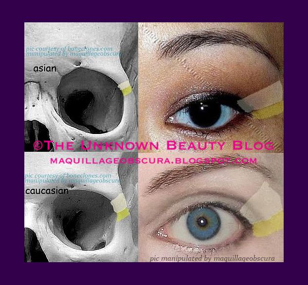 La differenza tra gli occhi asiatici e caucasici-3769
