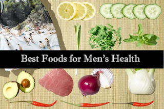 foods beneficial for men's health