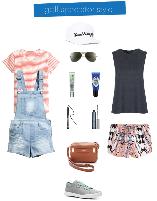 Golf Tournament Spectator Style // A Style Caddy